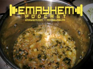 Emayhem.com: Soup with Gay Sponge Bob and Weekend Events!!