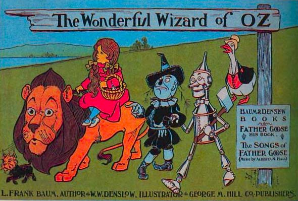 Wizard of Oz book art