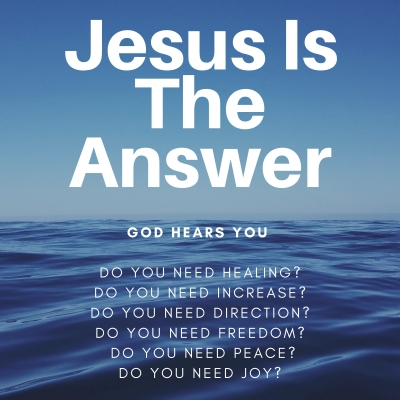 Jesus Is The Answer Podcast show image