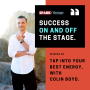 Artwork for 28: Success on and off the stage, with Colin Boyd.