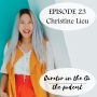 Artwork for Episode 23 - Interview with Christine Lieu