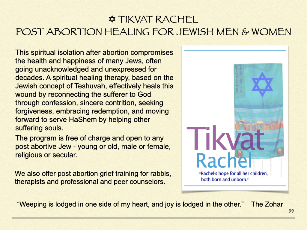 Tikvat Rachel - After Abortion Healing For Jewish Men & Women