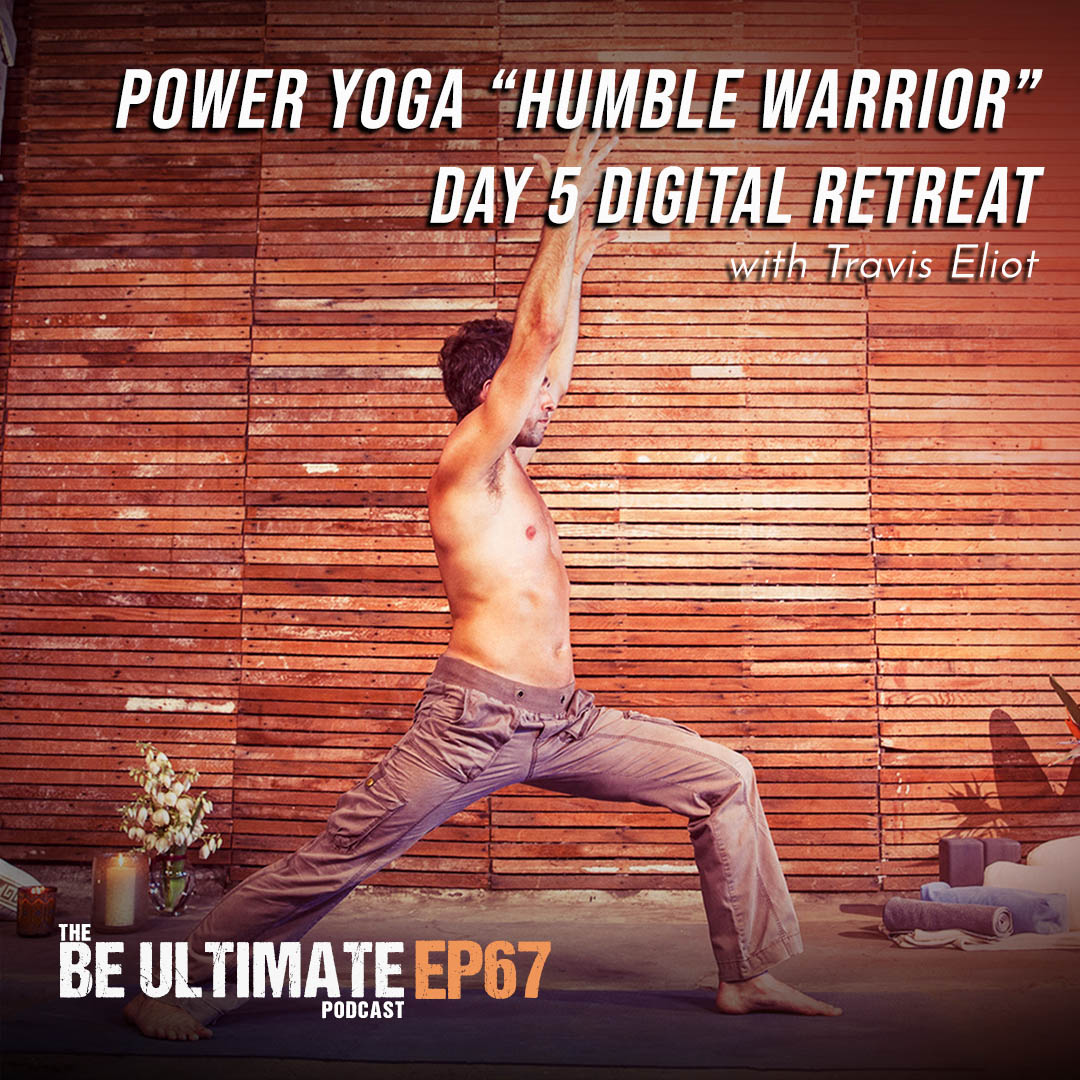 "Artwork for Power Yoga ""Humble Warrior"" l Day 5 Digital Retreat"