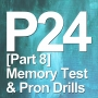 Artwork for P24 [Part 8] Memory Test & Pronunciation Drills for part 7