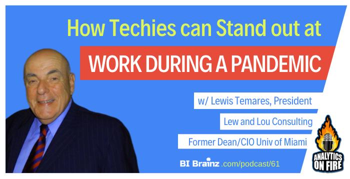 Lewis Temares Analytics on Fire Podcast Artwork
