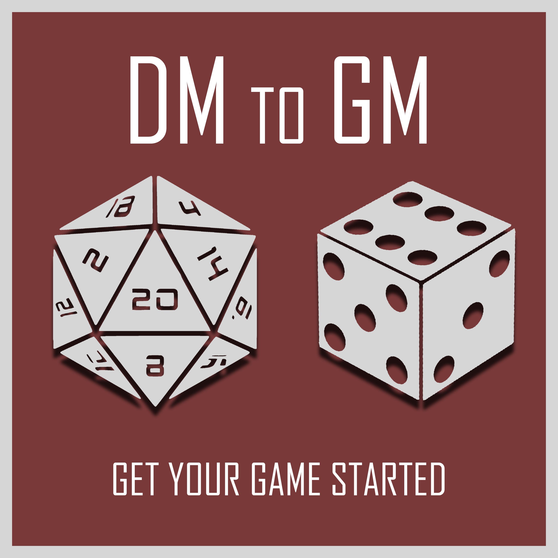 DM to GM show art