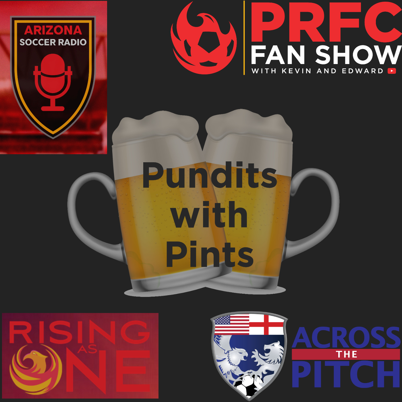 Pundits With Pints Podcast show art