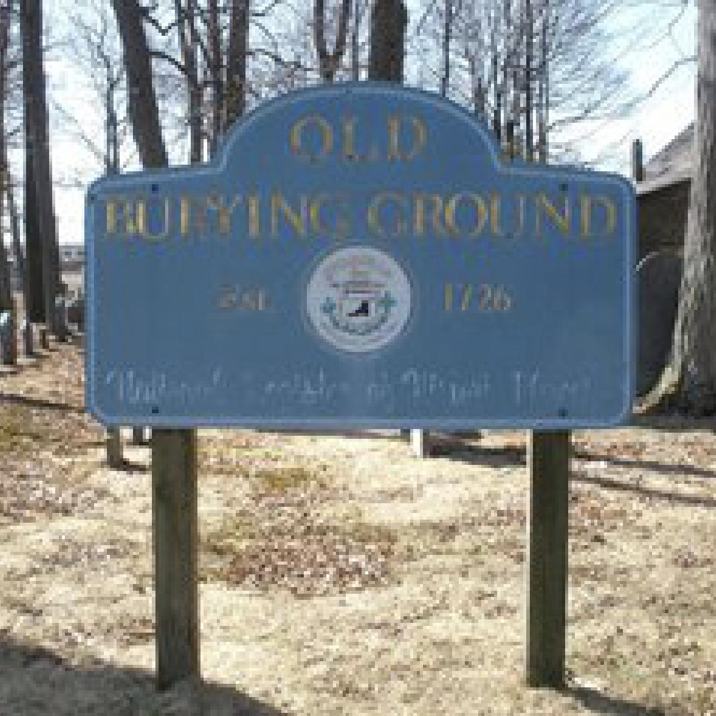 Stoneham Historic Burying Ground Tour show art