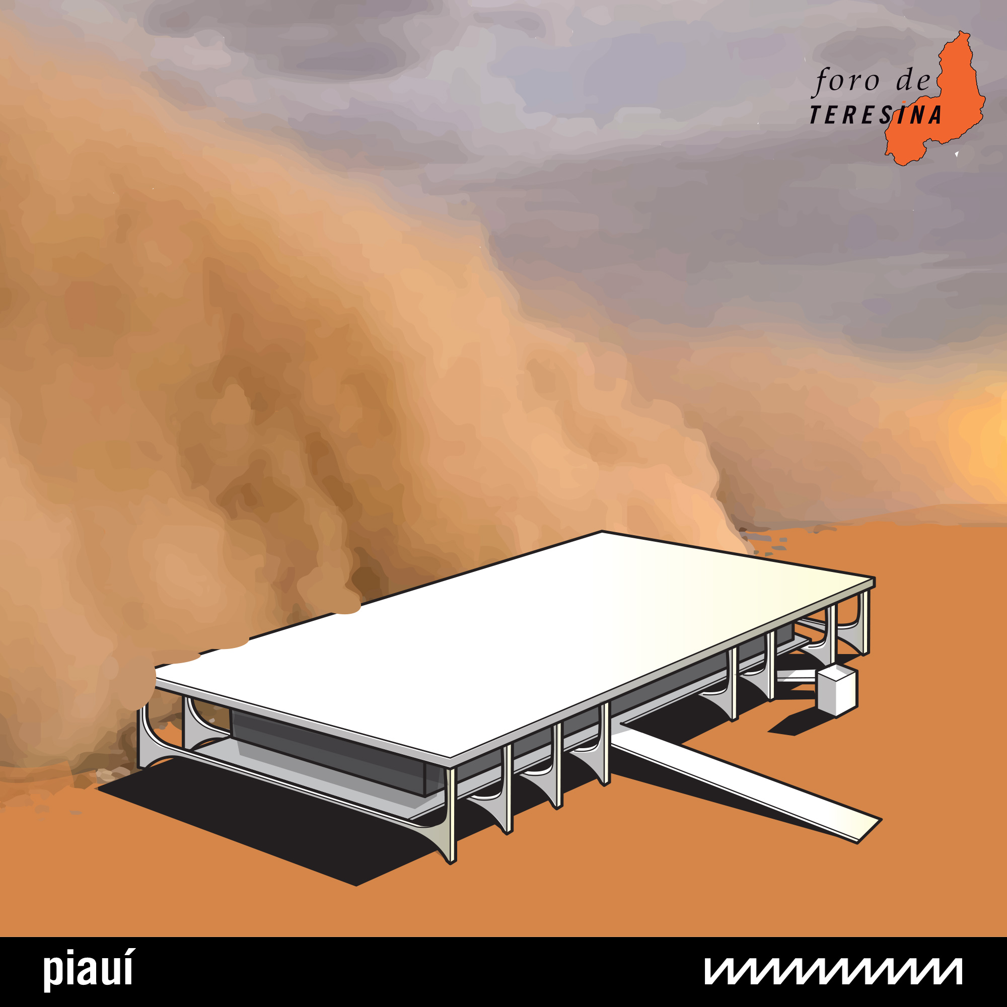 #170: Tempestade de areia sobre o Planalto