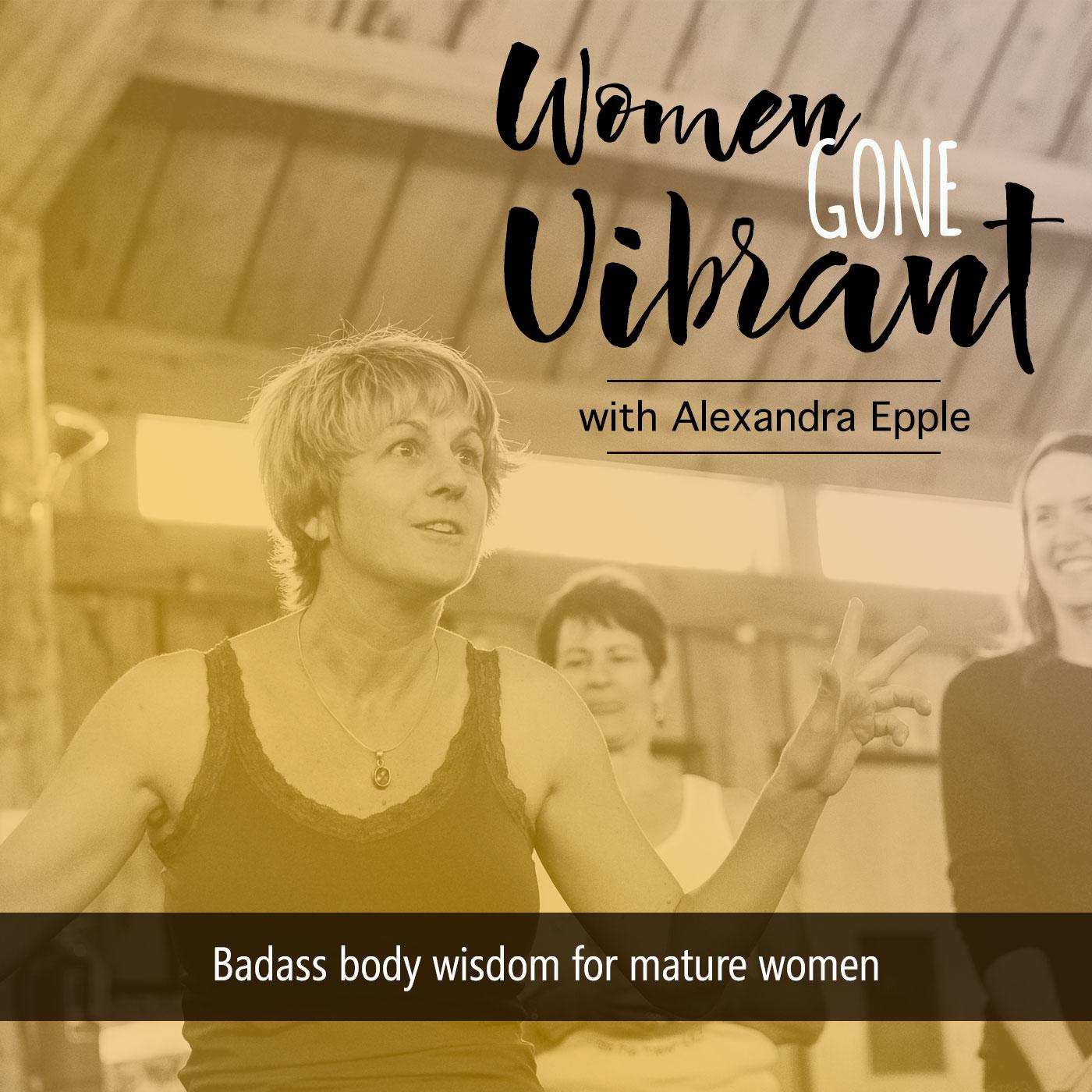 Women Gone Vibrant| Ayurveda for midlife & menopause show art