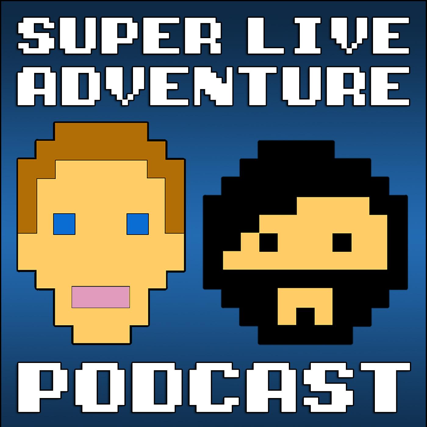 Super Live Adventure Podcast show art