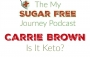 Artwork for Episode 140: Carrie Brown on Is It Keto?