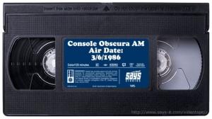 Console Obscura AM