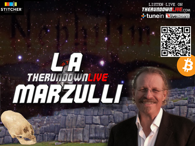 The Rundown Live #166 L.A. Marzulli (Nephilim,Skulls,Alien,History)