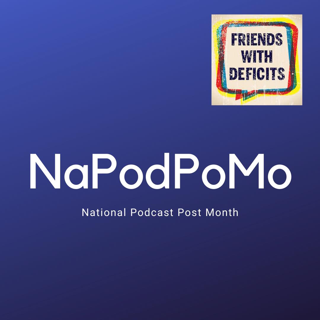 Artwork for NaPodPoMo #1 - A song!