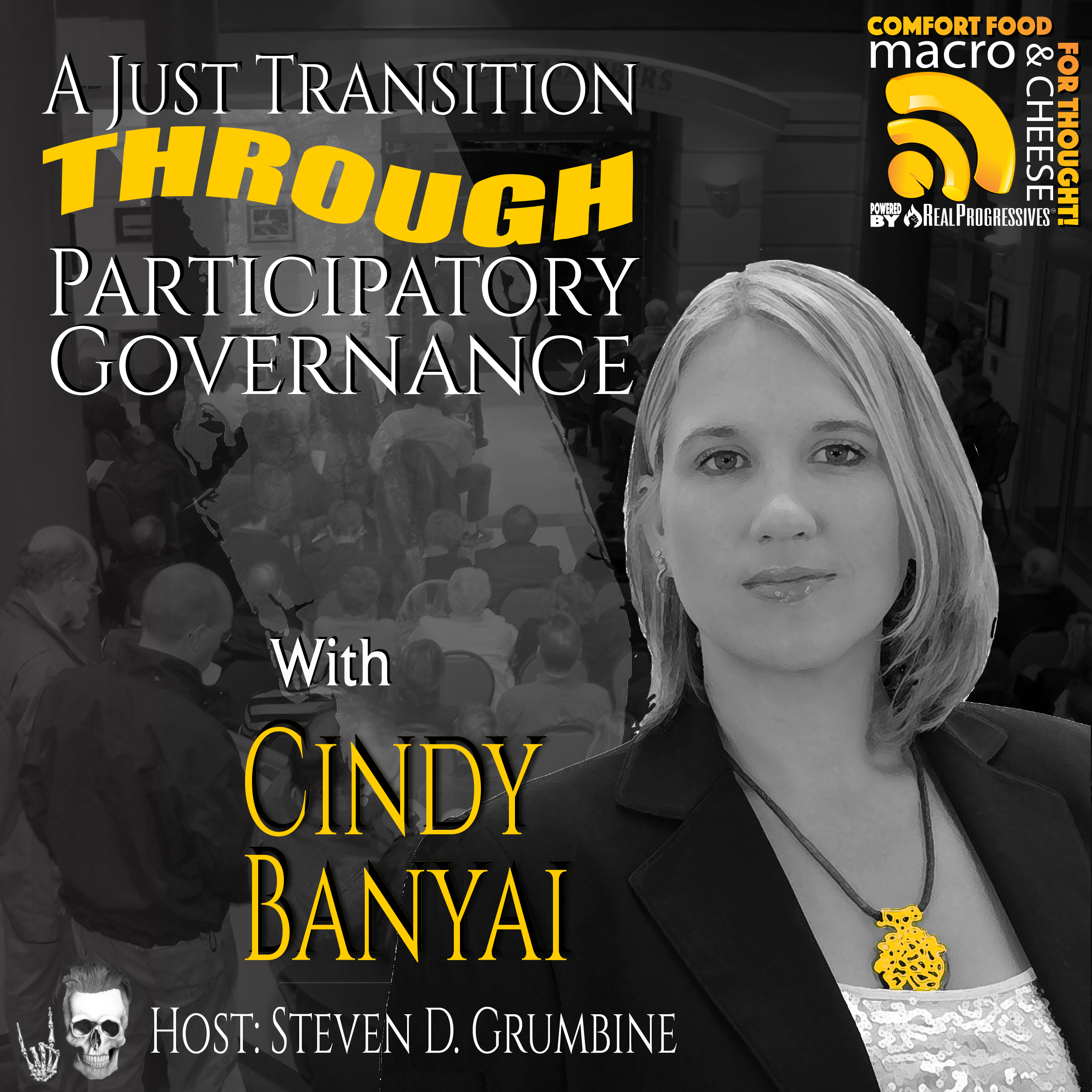 A Just Transition Through Participatory Governance with Cindy Banyai