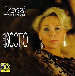 Renata Scotto Sings Songs of Verdi