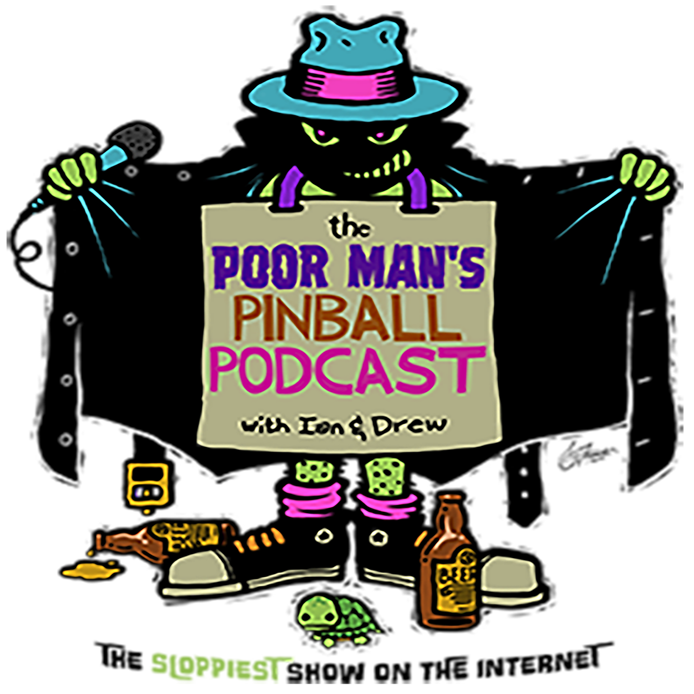 Poor Man's Pinball Podcast show art