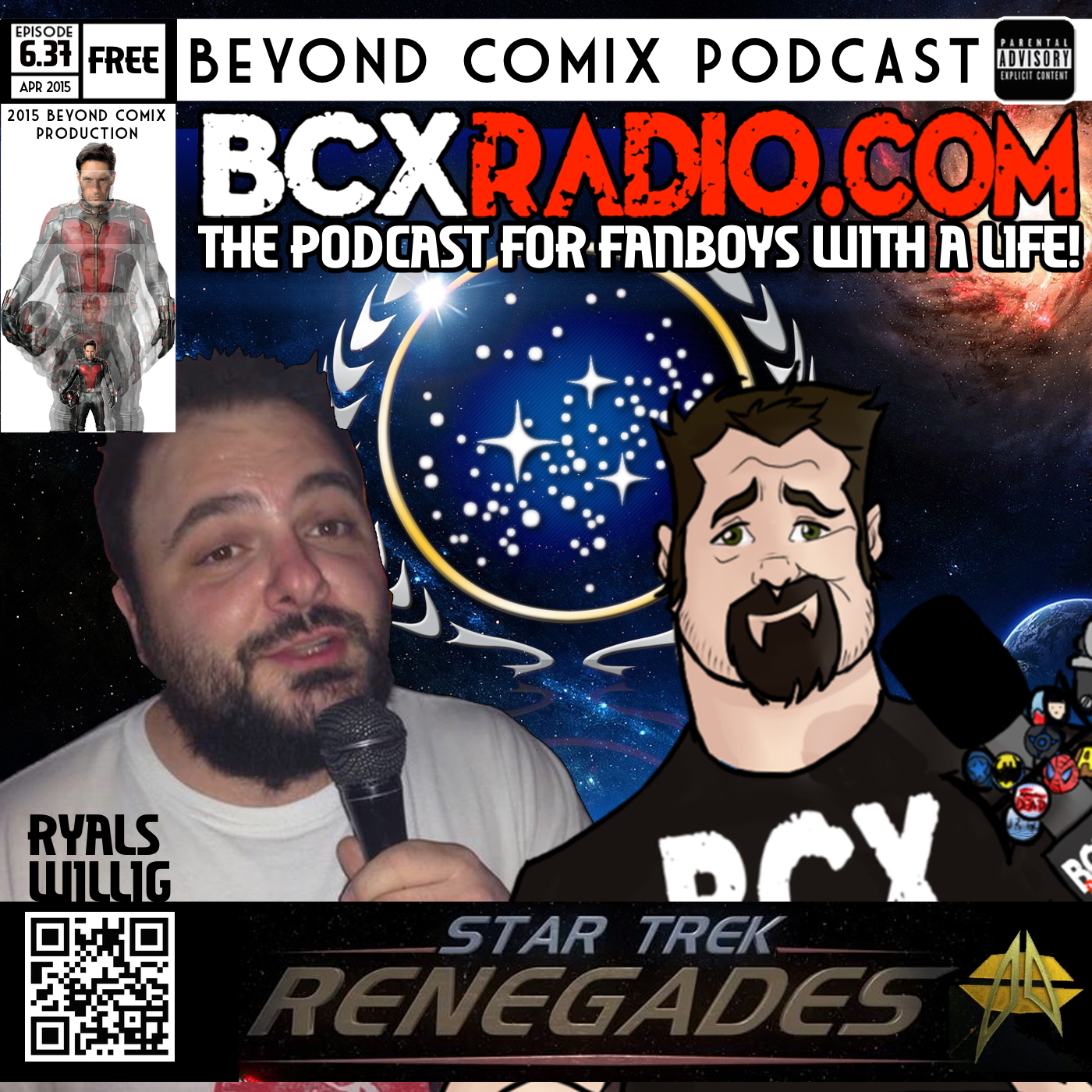 BCXradio 6.37 - Renegades