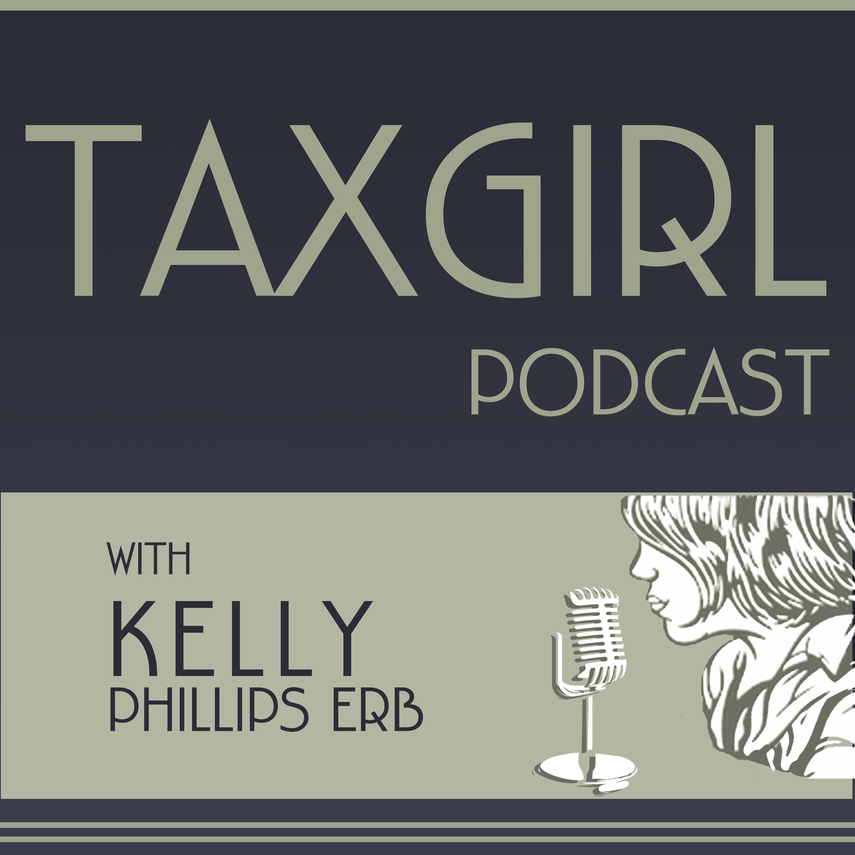 Taxgirl Podcast show art