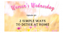 Artwork for 110: Women's Wednesday: 2 Simple Ways to Detox at Home