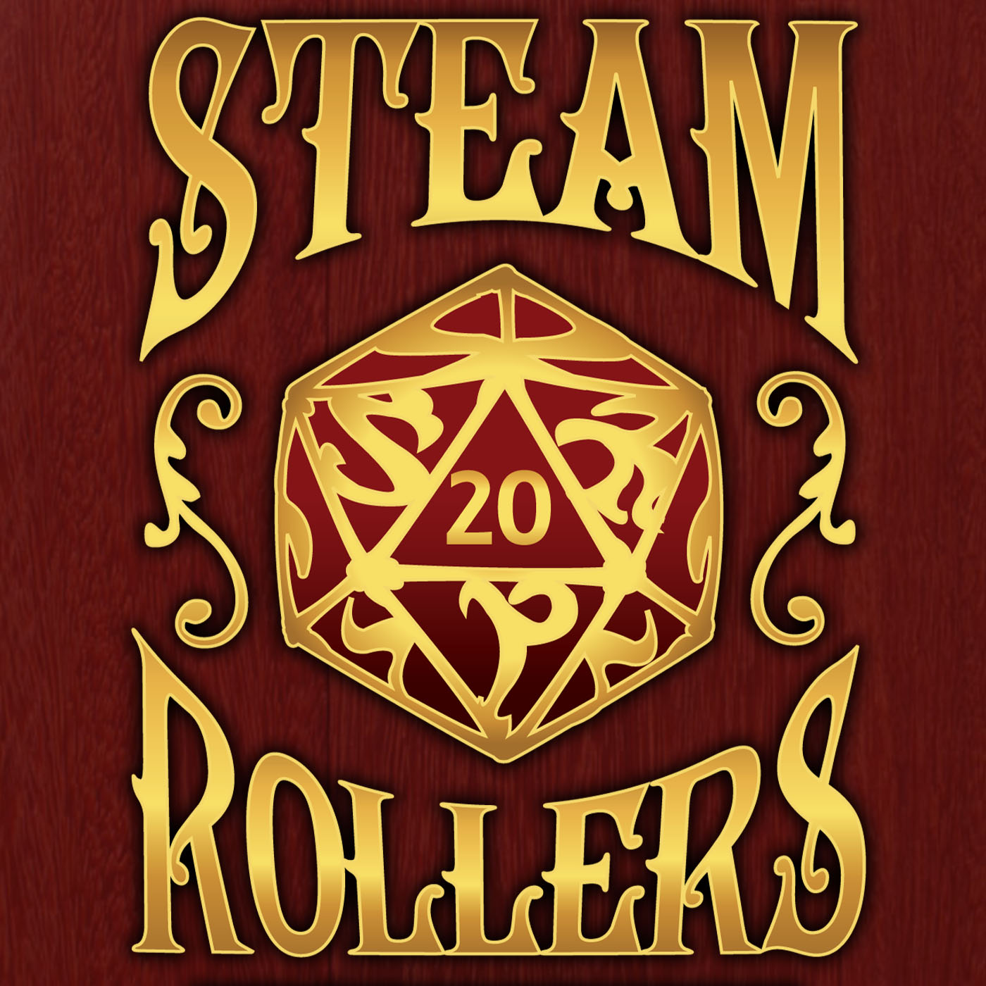 The Steam Rollers Adventure Podcast show art