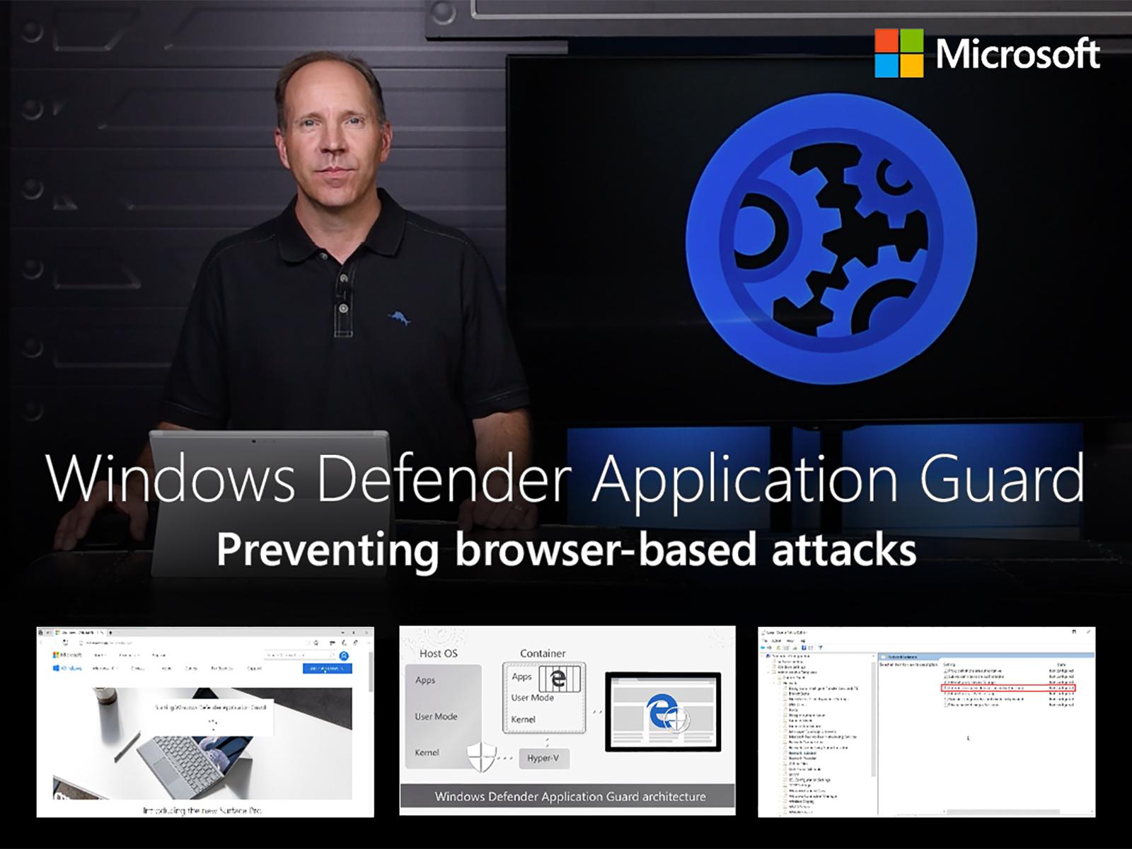Artwork for Windows Defender Application Guard