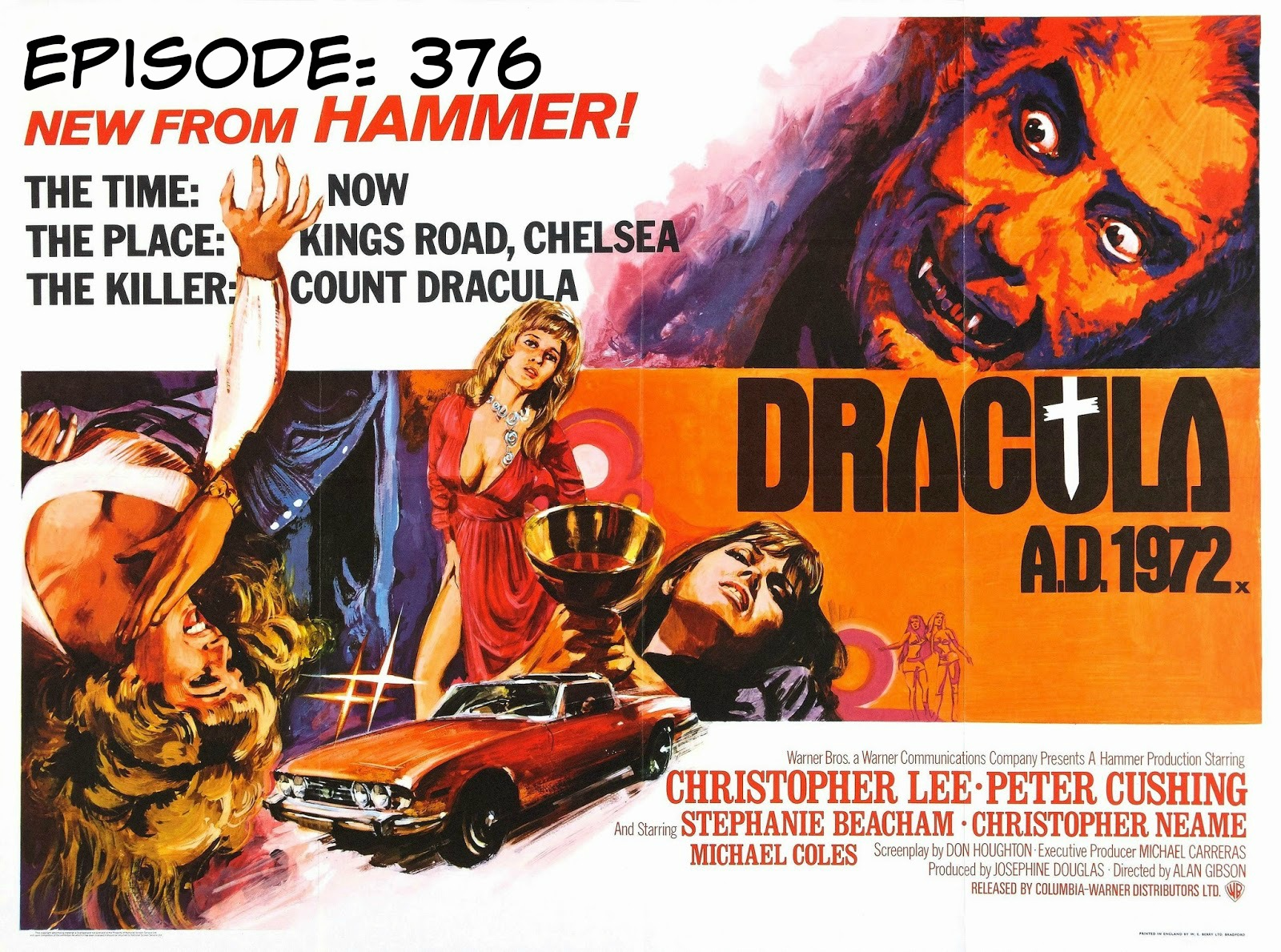B Movie Cast Episode 376- Dracula AD 1972