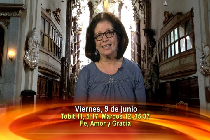 """Artwork for Viernes, 9 de Junio de 2017 Tema de hoy: """"Fe, Amor y Gracia"""""""