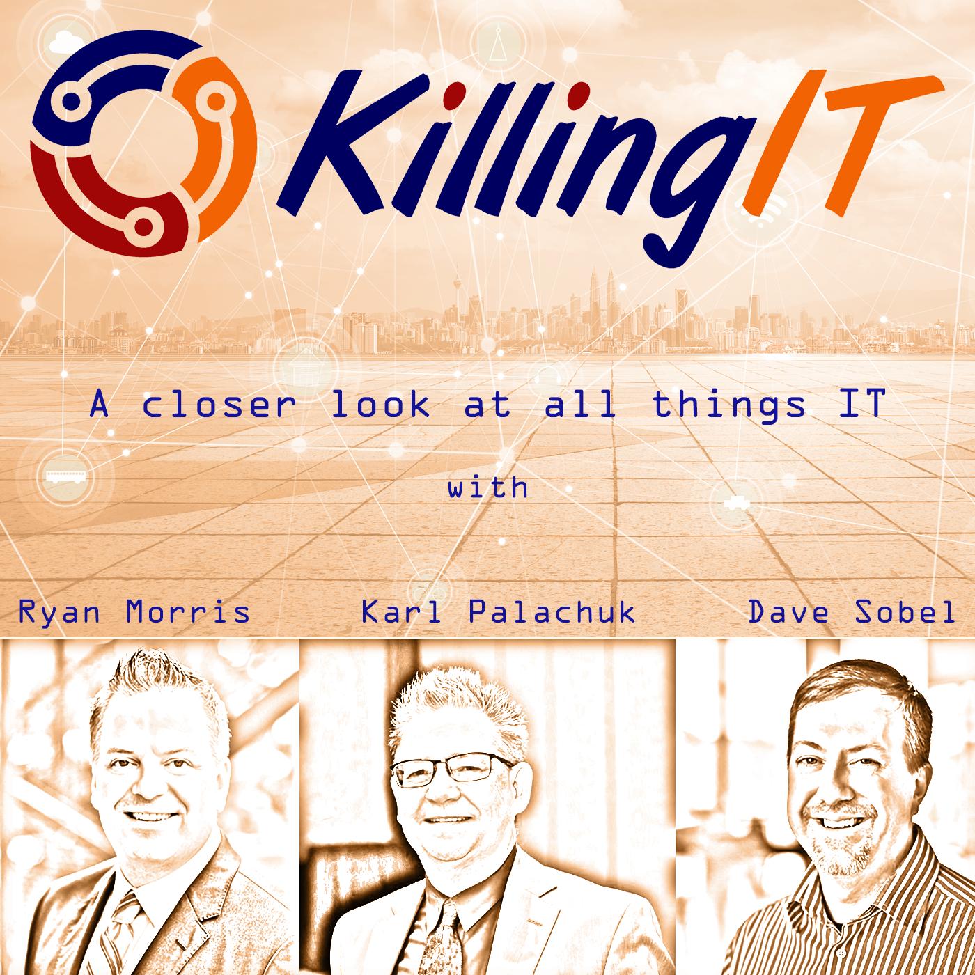 Episode 85 - Firing Robots, Analyzing AI, and Implementing Smart Tech show art