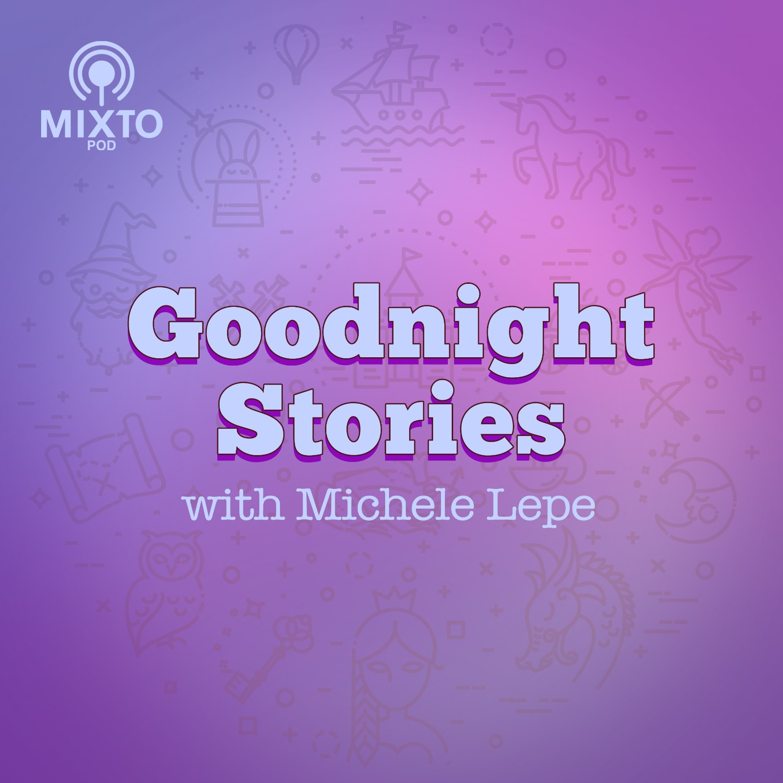 Goodnight Stories With Michele Lepe show art