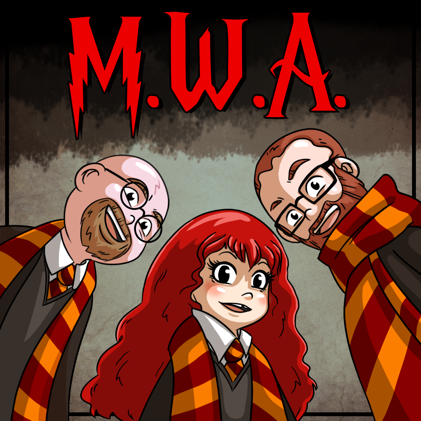 MWA: Muggles With Attitude show art