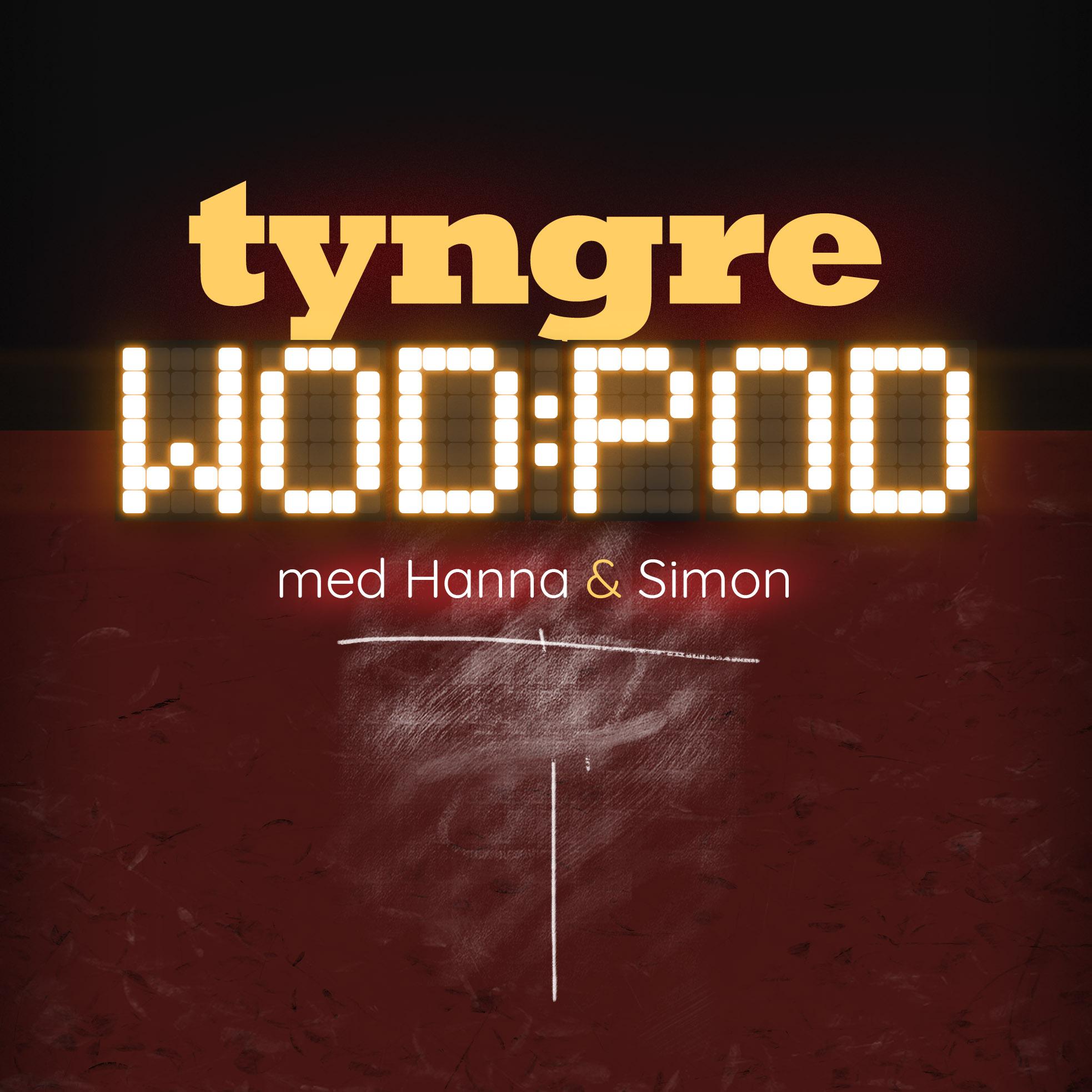 Tyngre Wod Pod show art