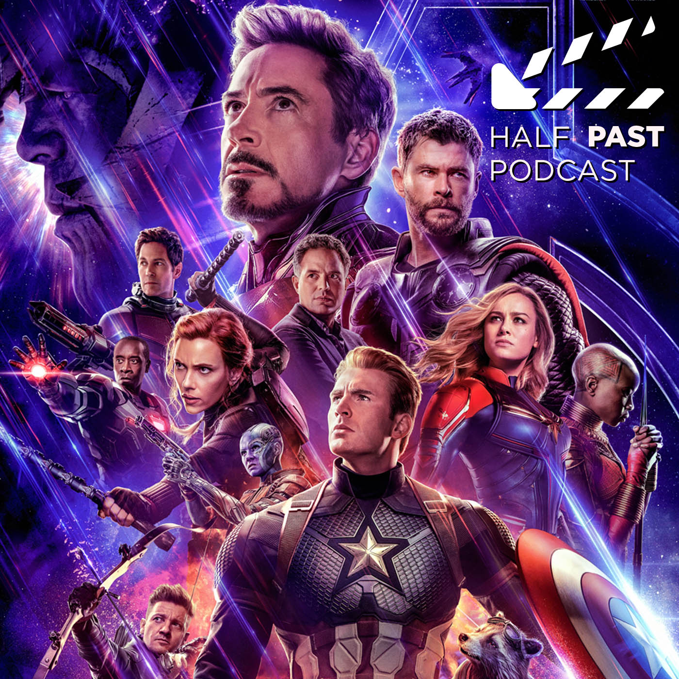 Artwork for H2P079 Movie Review of Avengers: Endgame