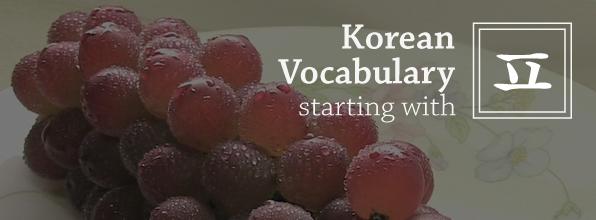 "TTMIK - Korean Vocabulary Starting with ""ã…�"""