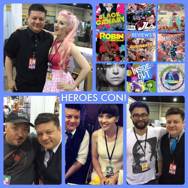 Episode 616 - Heroes Con! Francesco Francavilla/Robbi Rodriguez/Angelina (ALB)/Bridgit Connell!