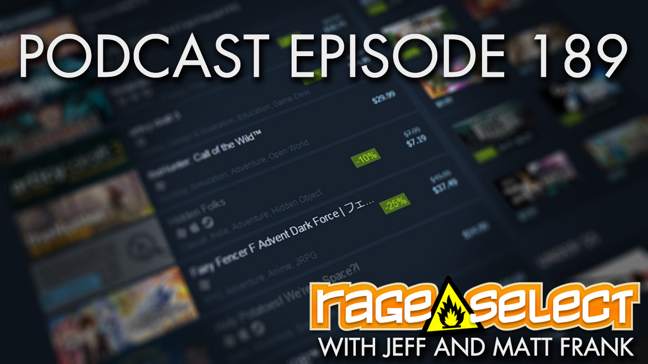 The Rage Select Podcast: Episode 189 with Jeff and Matt Frank!