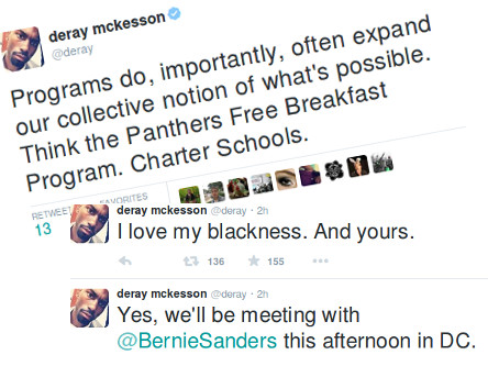 "Yale's Lucrative Wet Kiss Anoints Deray McKesson Their Kind of ""Transformational"" Leader"