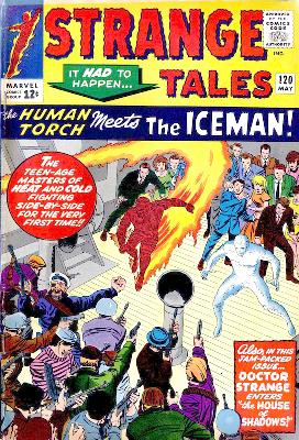 The X-Men Blog -- Strange Tales 120