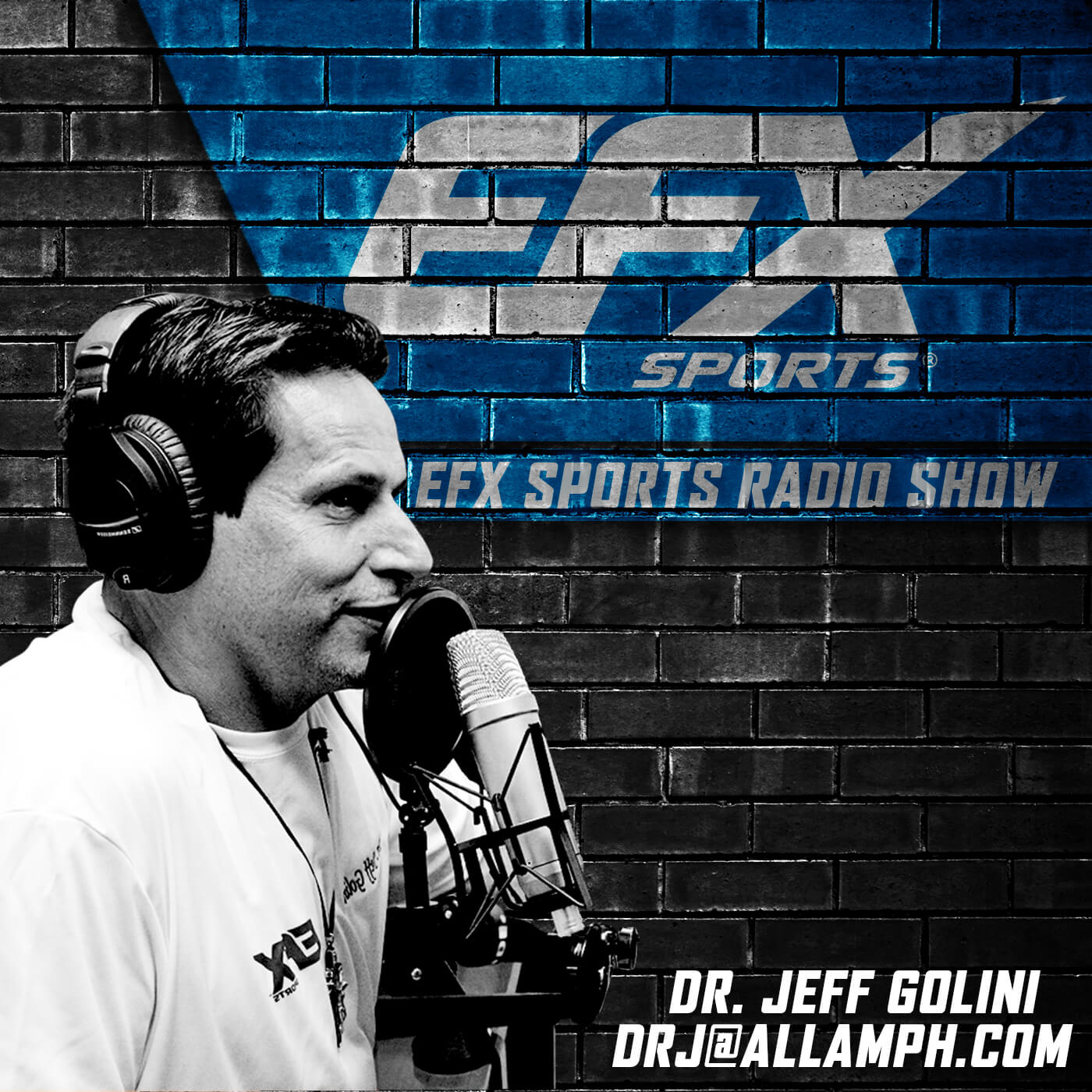 The EFX Sports Show show art