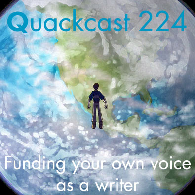 Episode 224 - Finding your own voice as a writer
