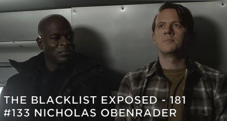 Dembe sits next to Obenrader in a van