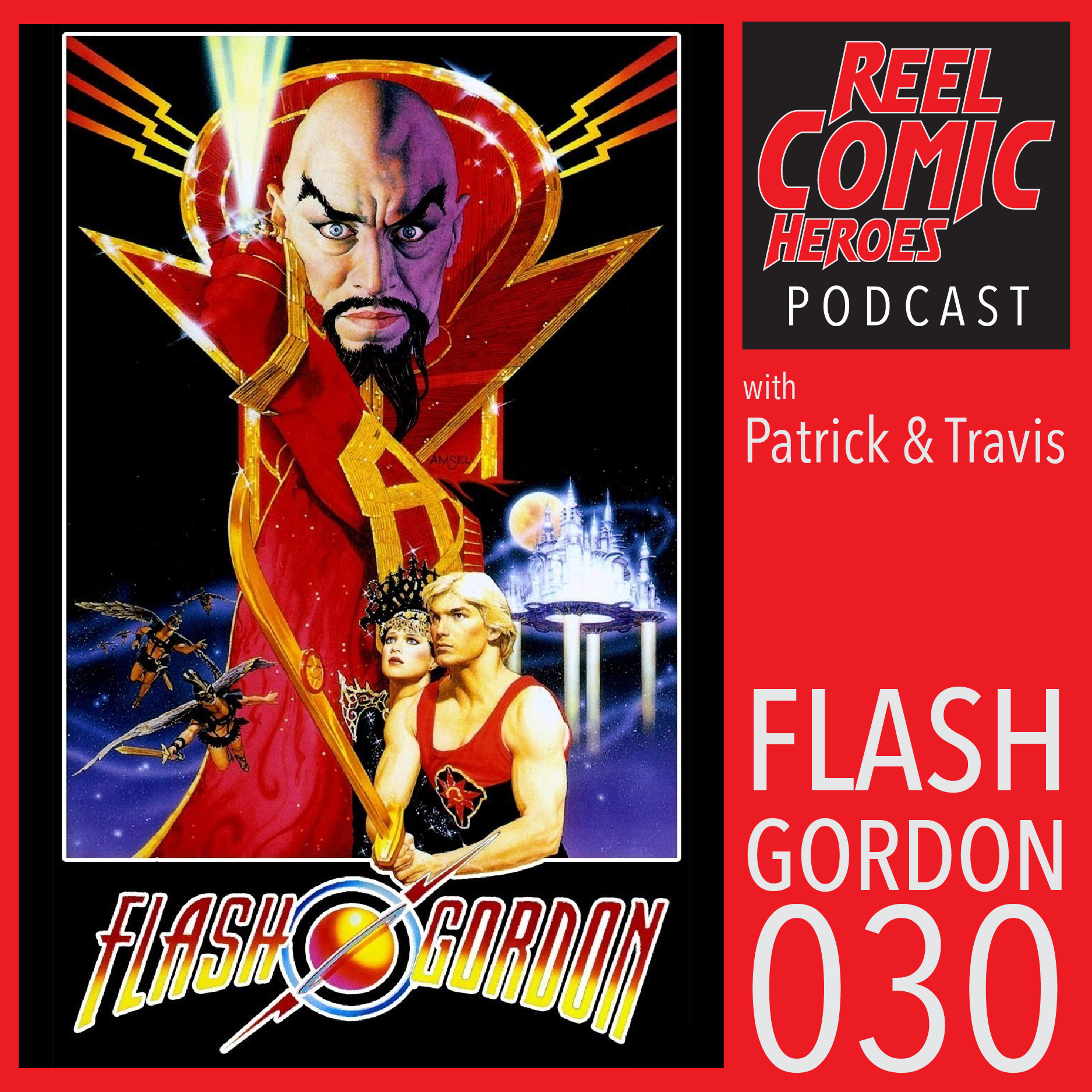 Artwork for Reel Comic Heroes 030 - Flash Gordon