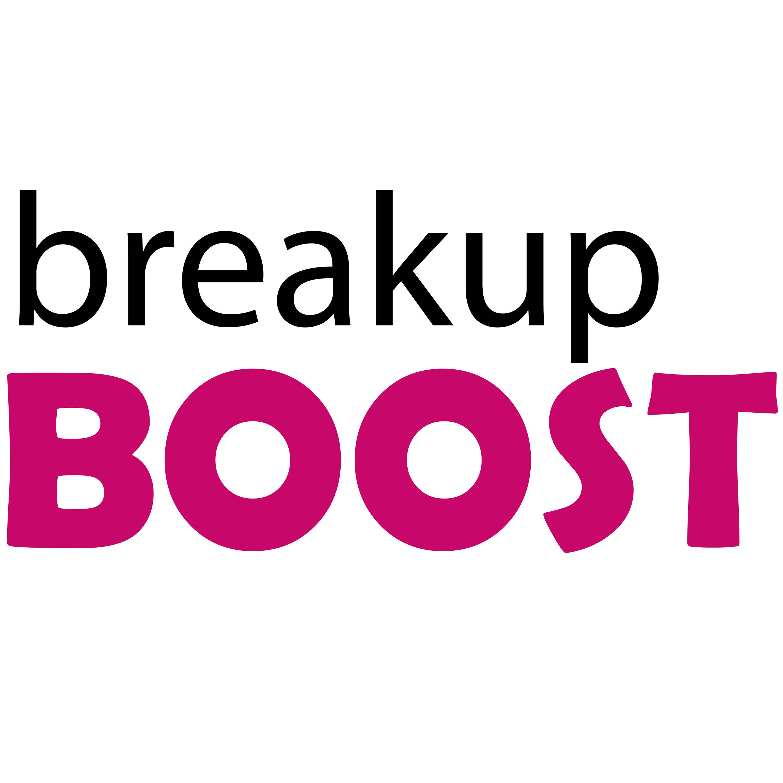 breakup BOOST Relationship Advice show art