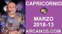 Artwork for CAPRICORNIO MARZO 2018-13-25 al 31 Mar 2018-Amor Solteros Parejas Dinero Trabajo-ARCANOS.COM