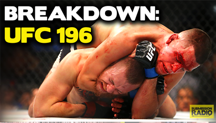 UFC 196 Breakdown Special: Robin Black, Tommy Toe Hold, Marc Raimondi - Submission Radio #84