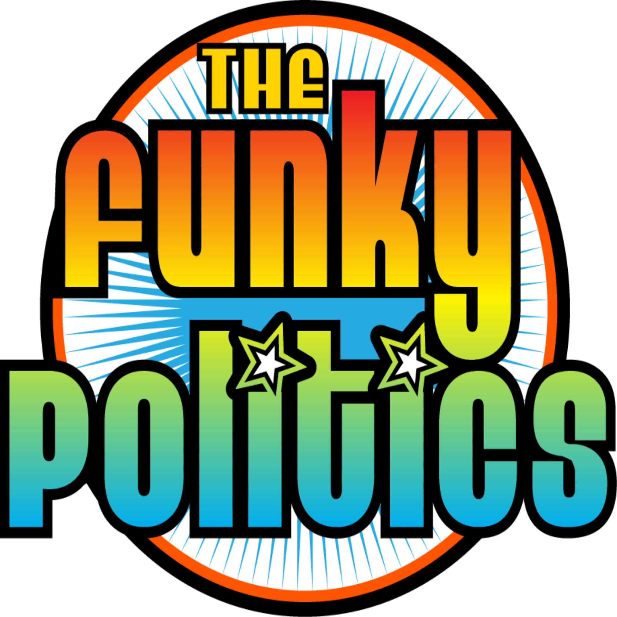 THE FUNKY POLITICS powered by KUDZUKIAN show art