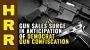 Artwork for Gun sales SURGE in anticipation of Democrat gun confiscation