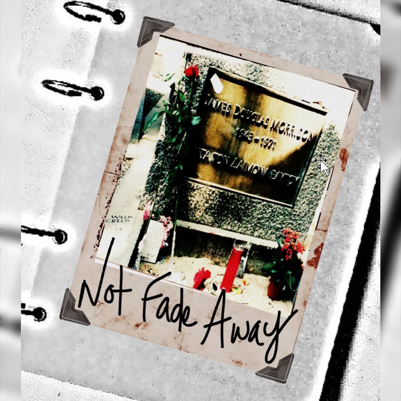Not Fade Away Podcast show art