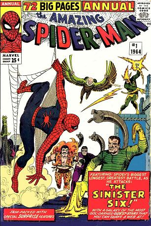 The X-Men Blog -- Amazing Spider-Man Annual 1